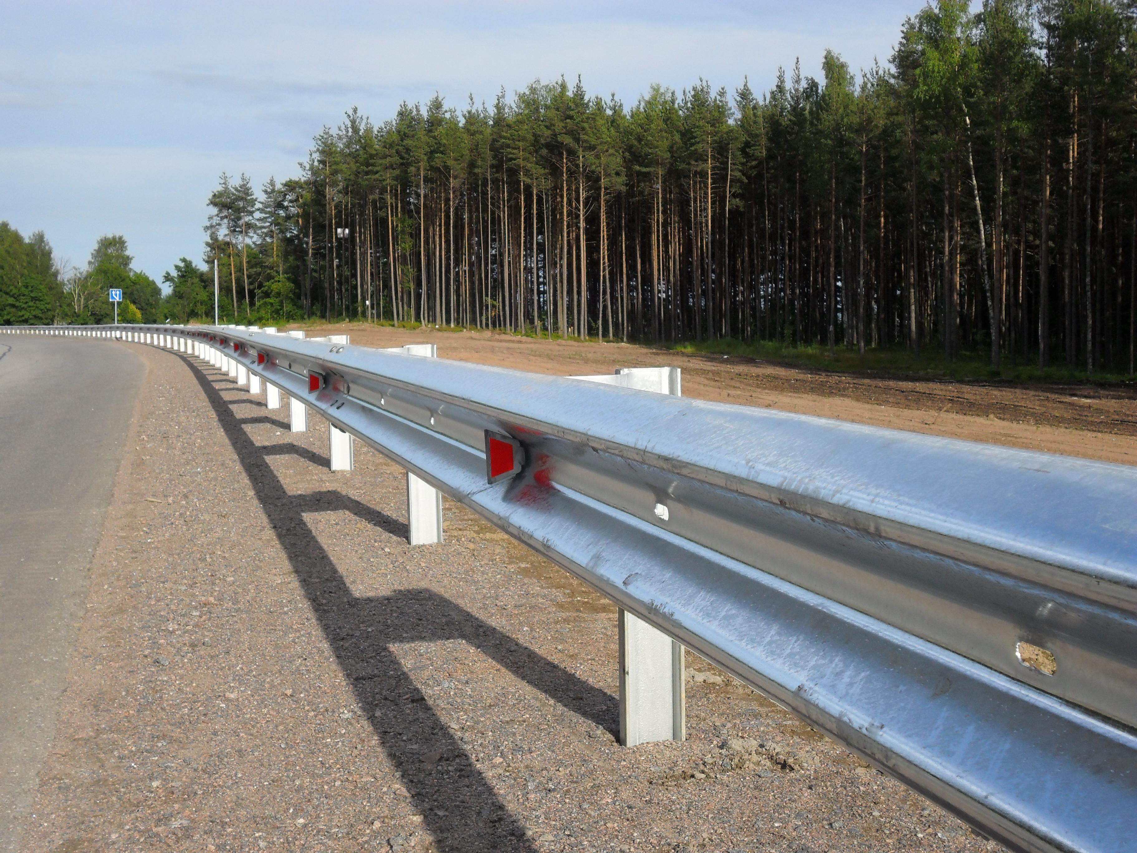 Дорожные катафоты (световозвращающие элементы для дорожных ограждений) | ктц металлоконструкция