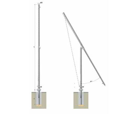 Складывающиеся опора Тип ТГ | ктц металлоконструкция