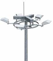 Мачта с мобильной короной Тип ММ | ктц металлоконструкция