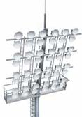 Мачты со стационарными площадками Тип МС | ктц металлоконструкция