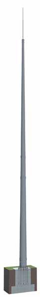 Мачта молниеотвода Тип МО | ктц металлоконструкция