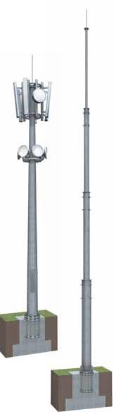 Мачты связи Тип МР | ктц металлоконструкция