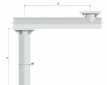 Консоль выносная с фундаментом металлическим | ктц металлоконструкция