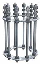 Монтажный комплект для железобетонного фундамента | ктц металлоконструкция