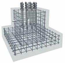 Фундамент армированный железобетонный | ктц металлоконструкция